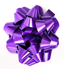 Gift purple - violet bow
