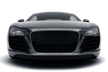 Wall Mural - Black Sports Car