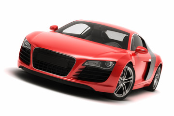Wall Mural - Red Sports Car