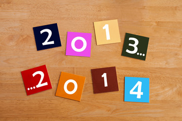 2013 ... 2014  -  sign for New Year
