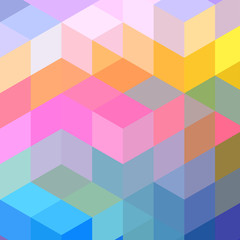 abstract bright background with rhombus