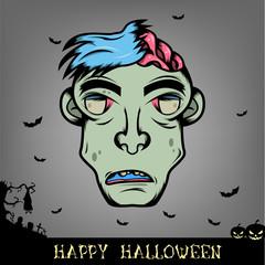 Halloween Zombie Monster