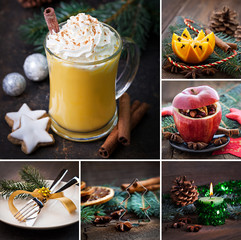 Collage Weihnachten