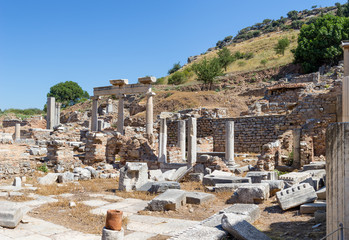 Temenos ruins, Ephesus, Turkey
