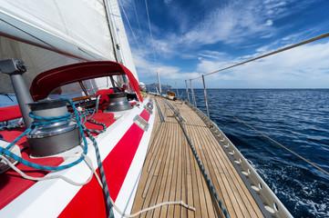 Fototapete - sailing
