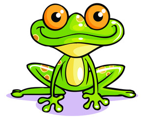 frog funny cartoon