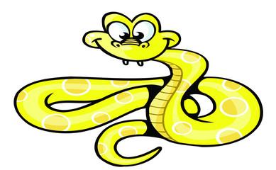 snake cartoon style