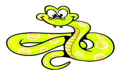 snake cute cartoon