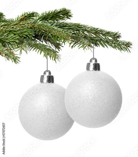 Weihnachtskugeln Weiß.Weihnachtskugeln Weiß Stockfotos Und Lizenzfreie Bilder Auf Fotolia