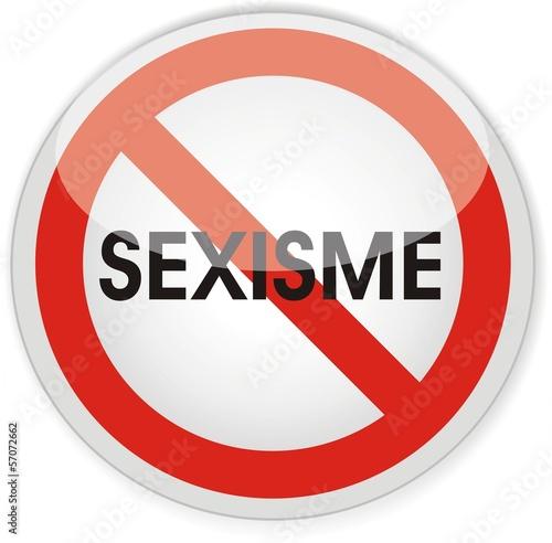 panneau interdit sexisme fichier vectoriel libre de droits sur la banque d 39 images. Black Bedroom Furniture Sets. Home Design Ideas