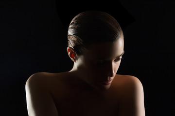 Beautiful Spa Woman with Fresh Clean Skin