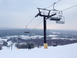 Chairlift at Ski Hill