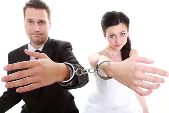 relationship concept couple in divorce crisis