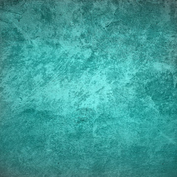 Turquoise abstract texture foe background
