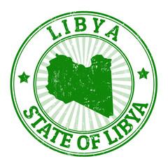 Libya stamp