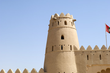 Arabian Fort in Al Ain Dubai