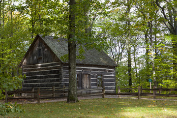Hesler Log House