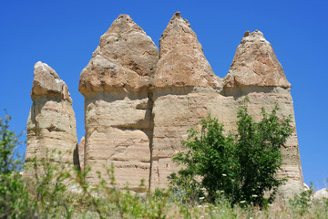 Love valley in Goreme, Cappadocia