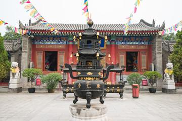 Papiers peints Xian guangren temple , Xian, China
