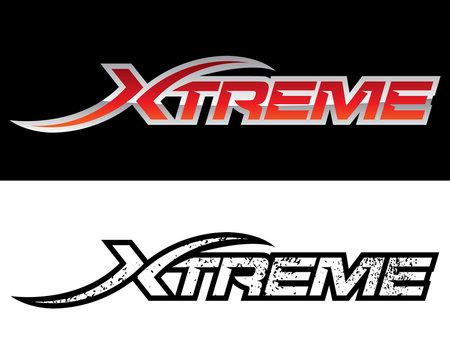 Logo Template Xtreme