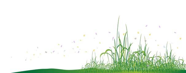 grass silhoette
