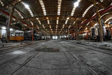 Industrial building interior