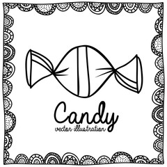 candy drawing