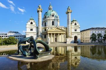 Keuken foto achterwand Wenen Karlskirche - Wien