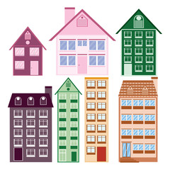 Houses collection.