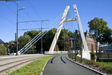 Jagiello Bridge in Bydgoszcz - Brda River