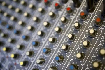 Mixer panel