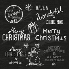 Season's Greetings Christmas Signs
