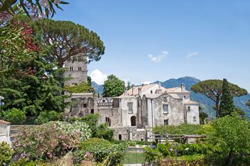 Villa Rufolo in Ravello, Amalfi Coast, Italy