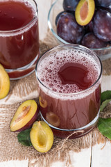 Healthy Plum Juice
