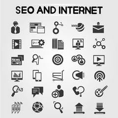 search engine optimization, seo icons, web apps icon
