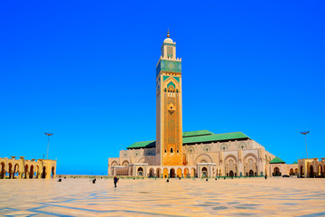 Canvas Prints Morocco Moschea Hassan II