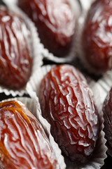 Medjoul or Medjool dates