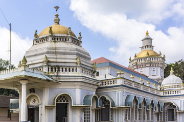 Shri Mangeshi temple (1890) in Priol, Ponda taluk, Goa, India.