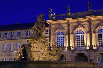 Bayreuth Neues Schloss Nacht 01