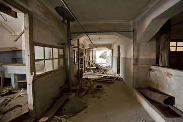 abandoned building, inside of abandoned old building