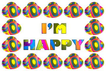Wall Mural - I'm Happy
