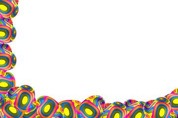 Wall Mural - Cornice cappelli Clown