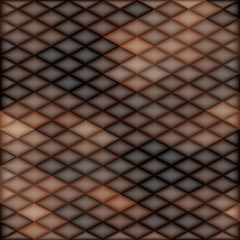 Square Brown Mosaic Background