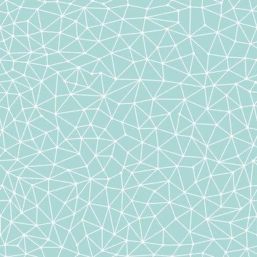 Seamless pattern crystal lattice. Vector illustration.