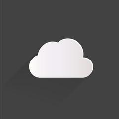 Cloud application web icon