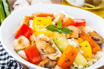 Cous cous with veggies - Cous Cous mit Gemüse