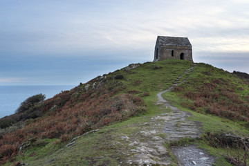Dusk at Rame Head
