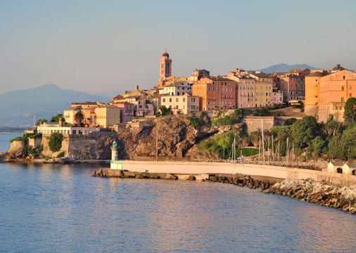 Bastia vue de la mer