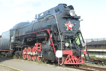 Петербург музей со старинными паровозами
