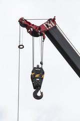 Hook of the crane